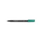 Marker Temp Felt/Fibre Tip Staedler Lumocolor 318-5 Green